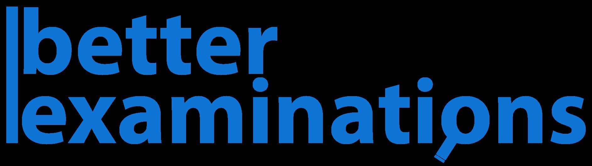 Better examinations logo